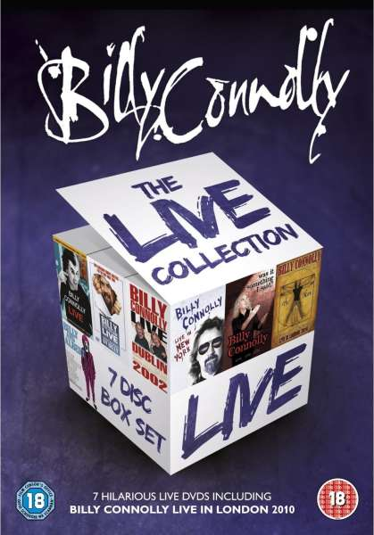 Billy Connolly The Live Collection Dvd Zavvi
