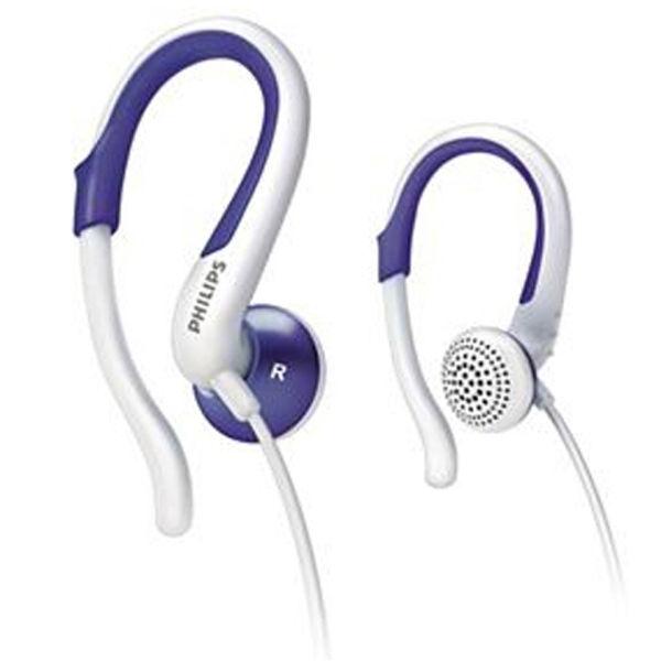 Purple earbuds pack - headphones purple white