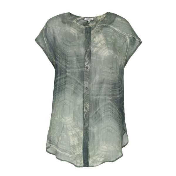 Surface to Air Women's Massa Turtle Marble Print Top - Green