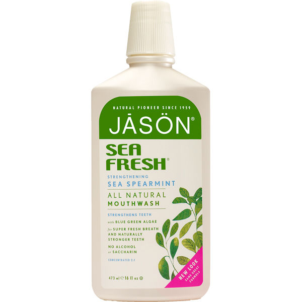 Enjuague bucal fortificante Sea Fresh de JASON (473 ml)