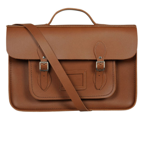 The Cambridge Satchel Company 15 Inch Leather Batchel - Vintage Tan