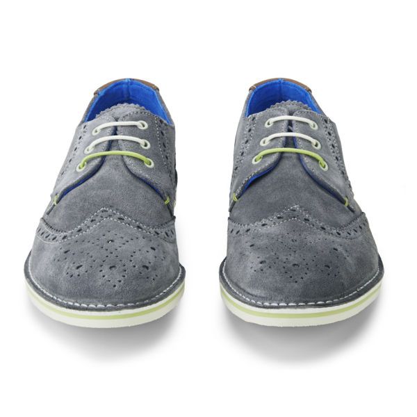 e401ccd64 Ted Baker Men s Jamfro 3 Suede Brogues - Grey  Image 4
