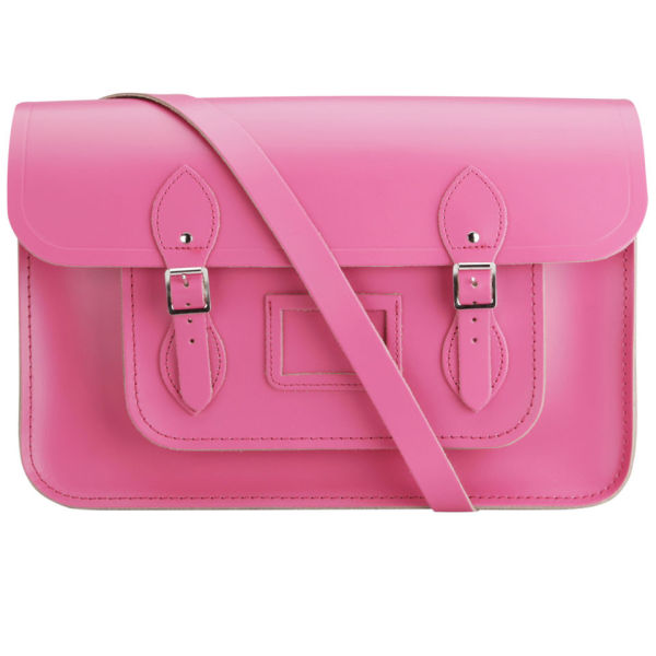 The Cambridge Satchel Company 15 Inch Leather Satchel - Orchid