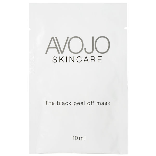Avojo - The Black Peel Off Mask - Sachet (.3oz x 4)