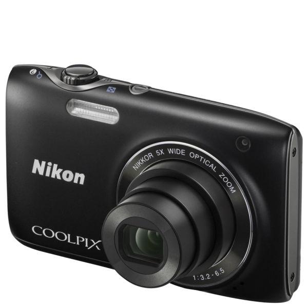 nikon coolpix s3100 compact digital camera black 14mp 5x optical rh thehut com Nikon Coolpix S3100 Battery Life Nikon Coolpix S3100 Charging Time