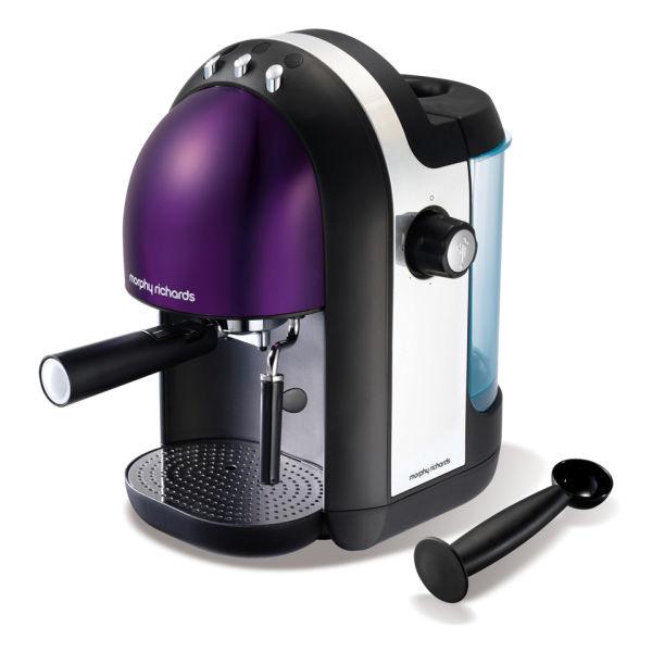 Morphy Richards Espresso Coffee Maker User Manual : Morphy Richards Meno Espresso - Plum Homeware Zavvi.com