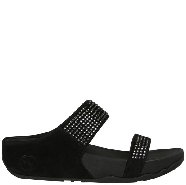 FitFlop Women's Flare Slide Sandals - Black