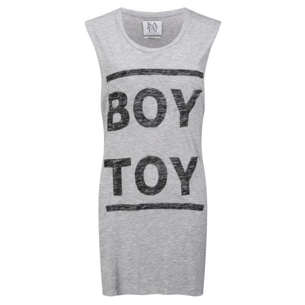 Zoe Karssen Women's Boy Toy Tank Top - Grey