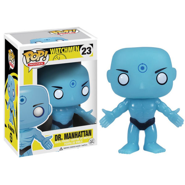 Watchman Dr. Manhattan DC Pop! Vinyl Figure
