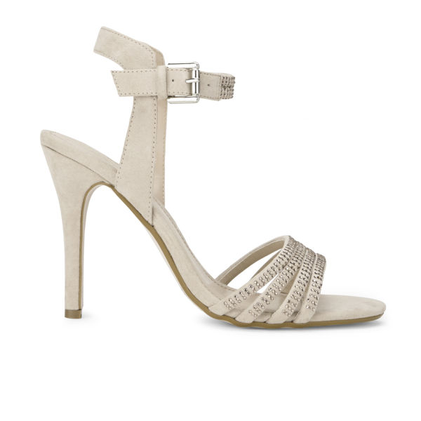 Miss KG Women's Elisha Diamante Heeled Sandals - Nude