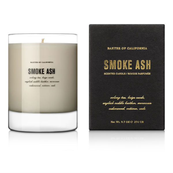 Baxter of California Smoke Ash Scented Candle