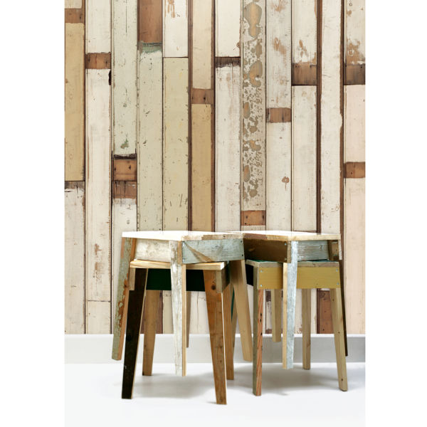 NLXL Scrapwood Wallpaper by Piet Hein Eek - PHE-01