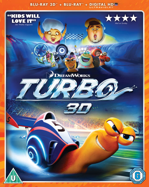 Turbo 3D (Includes UltraViolet Copy)