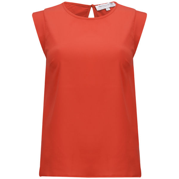 French Connection Women's Penny Plains Capped  Sleeve T-Shirt - Souk