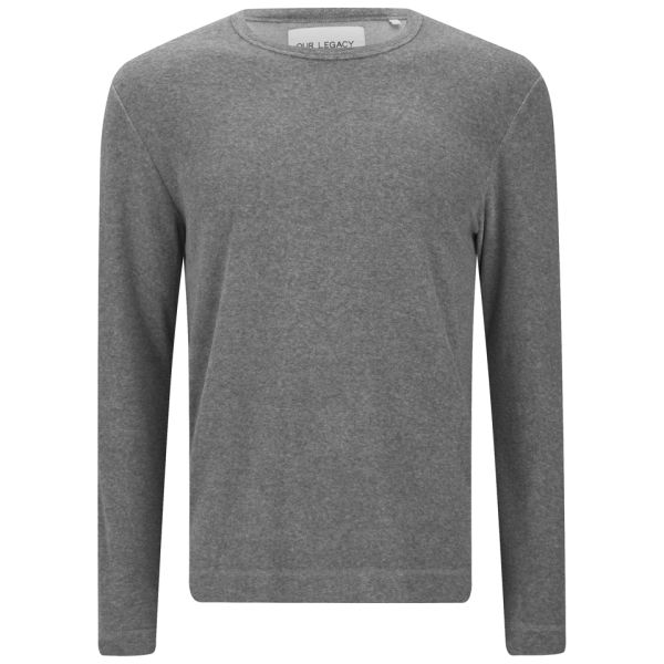 Our Legacy Men 39 S Long Sleeve T Shirt Washed Light Grey