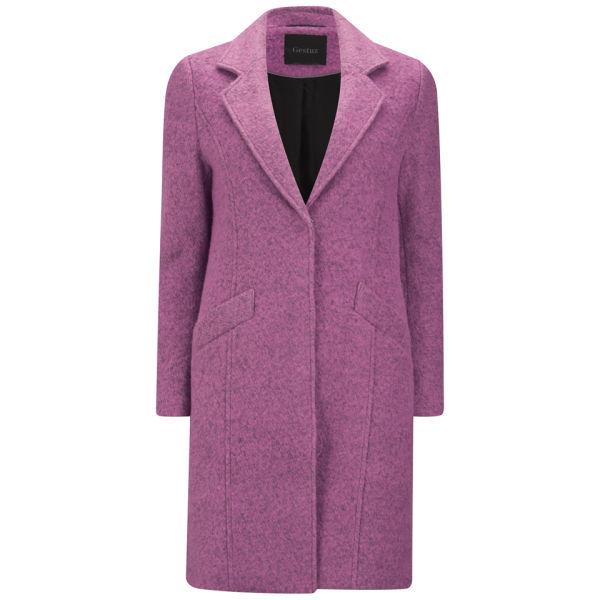 Gestuz Women's Rosa Wool Coat - Misty Rose