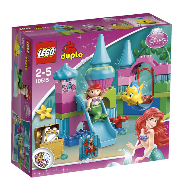 Lego duplo ariel 39 s undersea castle 10515 toys for Modele maison lego duplo