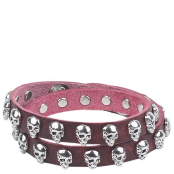 Markberg Graziella Leather Bracelet - Burgundy