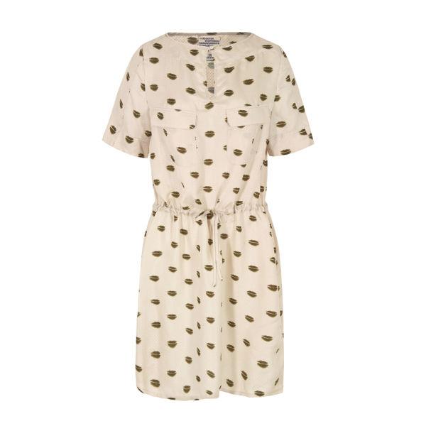 Baum und Pferdgarten Womens Hawa Silk Dress - Cream