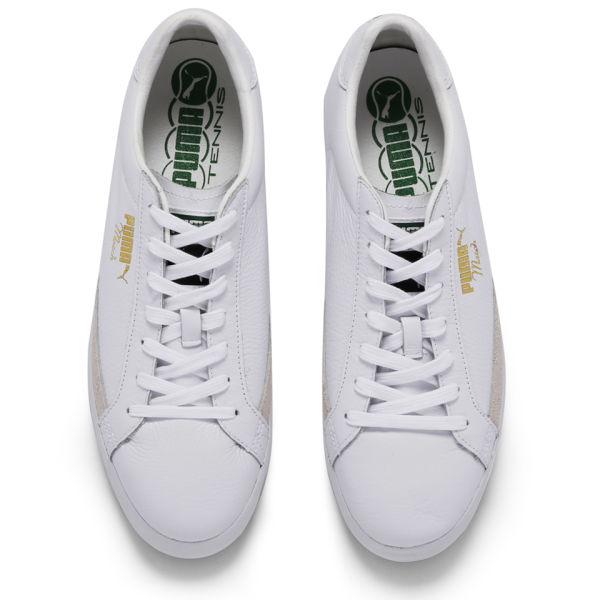 7aaeb34497e3 Puma Men s Match Vulc Trainers - White Grey Clothing