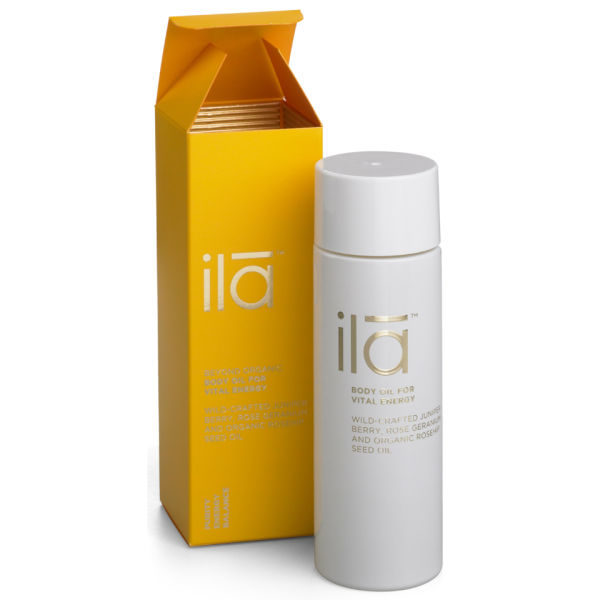 ila-spa Body Oil for Vital Energy 3.4 oz
