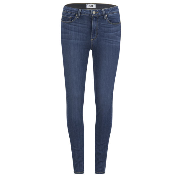 Paige Women's Hoxton Ultra Skinny Transcend Jeans - Blue