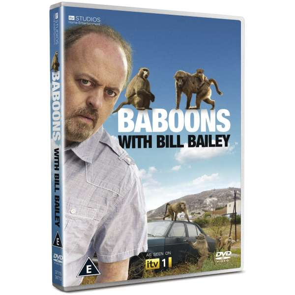 Baboons with Bill Bailey