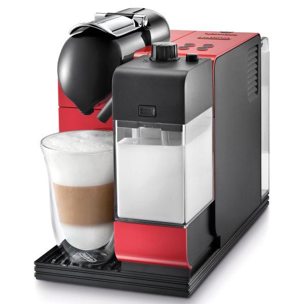 Nespresso lattissima capsule coffee machine passion red - Range capsule nespresso mural ...