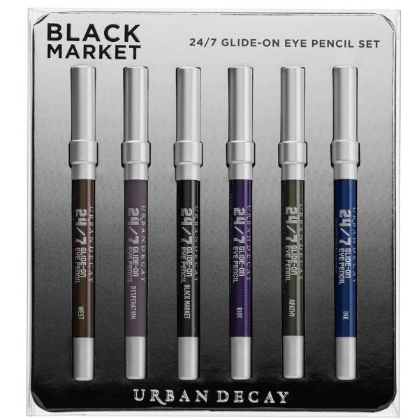 Urban Decay Black Market 24/7 Glide-On Pencil Set - Black Market (Limited Edition)