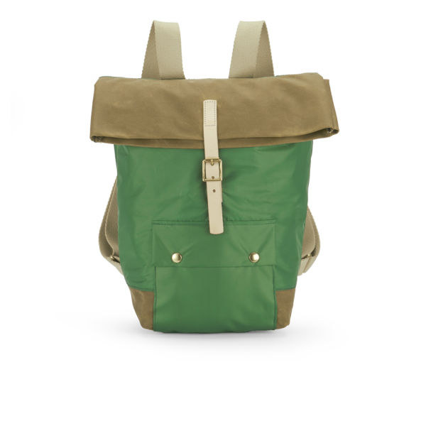 Tent Buckle Backpack Racing Green