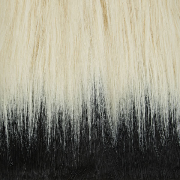 Unreal Fur Women S Fire And Ice Contrast Hair Faux Fur