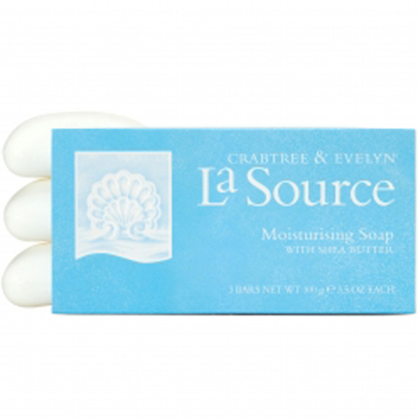 Crabtree & Evelyn La Source Moisturising Soap (3X100g)