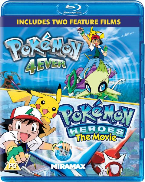 Pokemon Forever Pokemon Heroes Blu Ray Zavvi Com