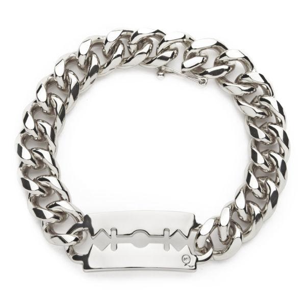 McQ Alexander McQueen Chunky Chain Bracelet - Shiny Silver
