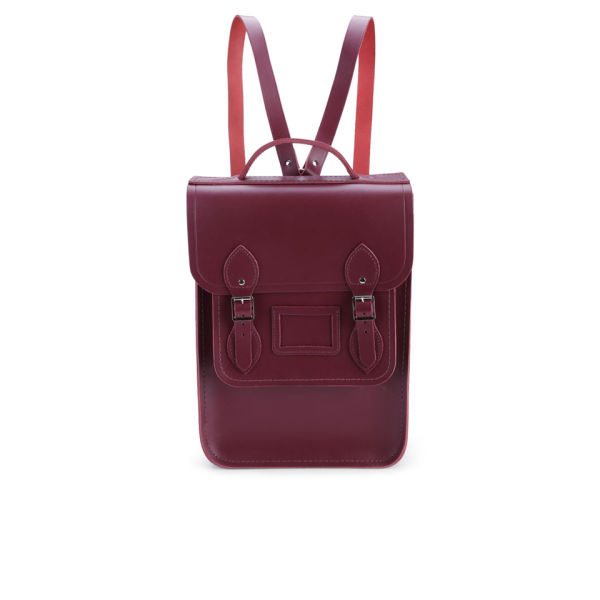The Cambridge Satchel Company New Portrait Leather Backpack - Chianti