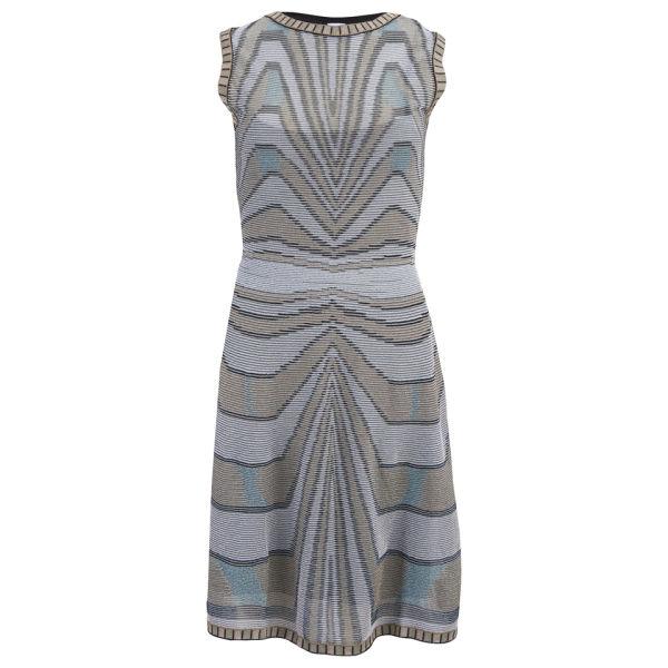 M Missoni Women's Knitted Dress - Grey