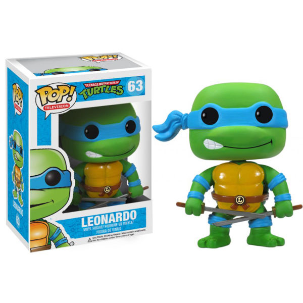 Figurine Pop! Léonardo - Teenage Mutant Ninja Turtles