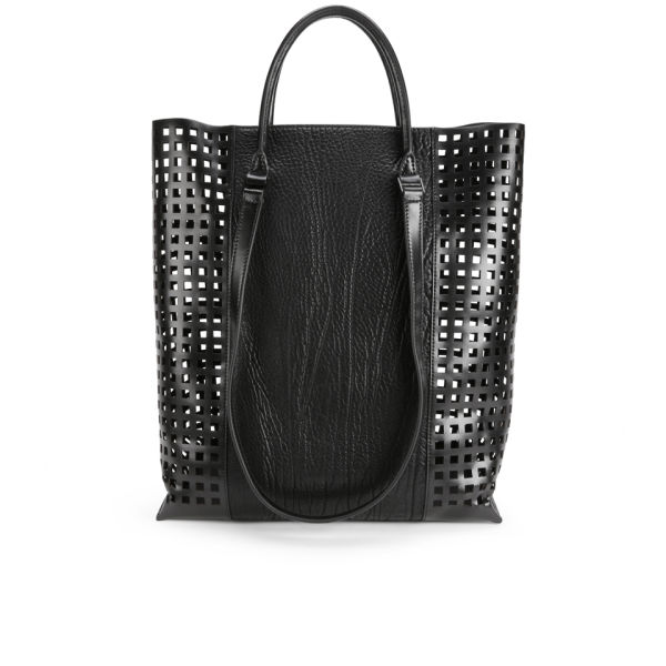 Helmut Lang Argon Leather Tote Bag - Black