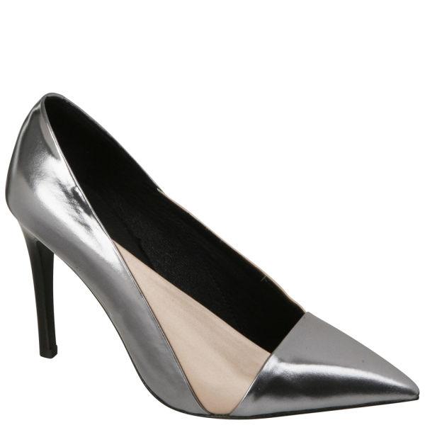 See By Chloé Women's Metallic Heels - Silver