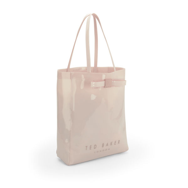 768eeaecf41 Ted Baker Solcon Bow Plastic Large Tote Bag - Nude  Image 2