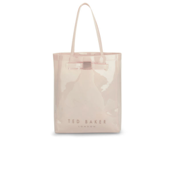 dc8da1d7105 Ted Baker Solcon Bow Plastic Large Tote Bag - Nude  Image 1