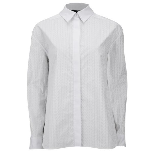 Alexander Wang Women's 'Men's' Dress Shirt - Peroxide