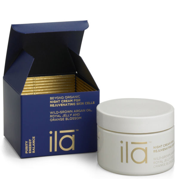 ila-spa Night Cream for Rejuvenating Skin Cells 50 g