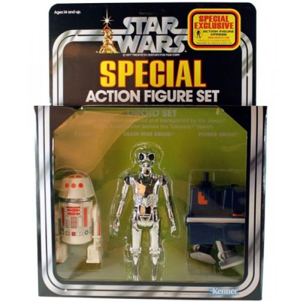 Gentle Giant Star Wars Droid Exclusive 3 Pack Afx Kenner