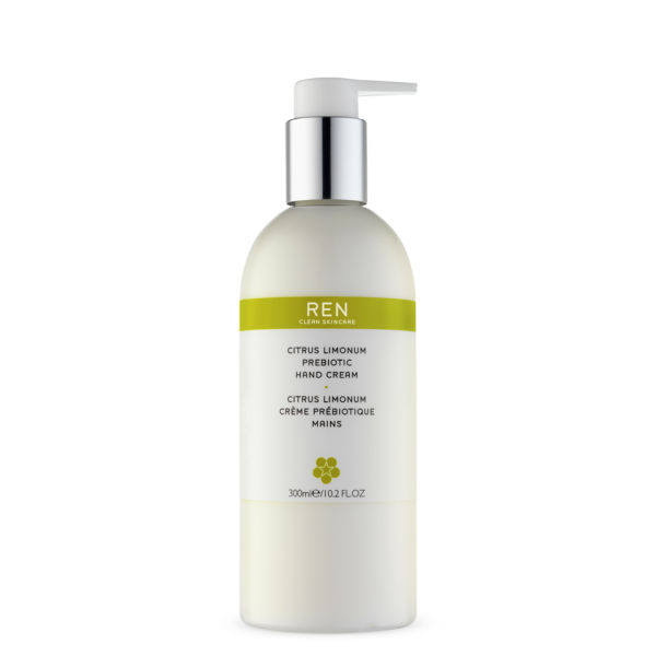 REN Citrus Limonum Prebiotic Hand Cream - 300 ml