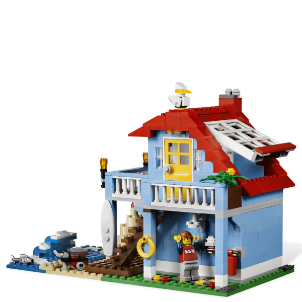 Lego Creator Seaside House 7346 Iwoot