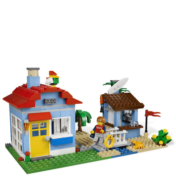 lego creator  seaside house  7346  toys