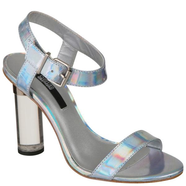 Senso Women's Sadie Perspex Heels - Clear/Silver