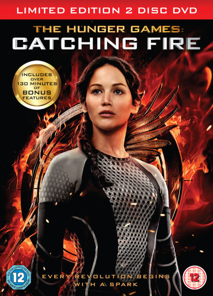 The Hunger Games Catching Fire Limited Edition Dvd Zavvi