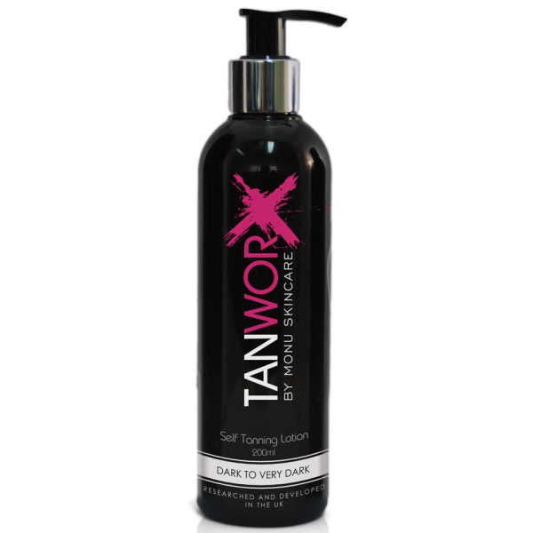 Tanworx Self Tanning Lotion - Dark to Very Dark (200ml)